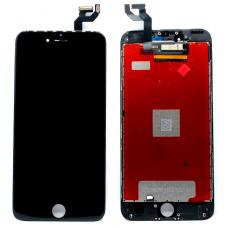 Дисплей с тачскрином для iPhone 6S Plus черный AAA
