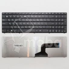 Клавиатура для ноутбука Asus A52/G60/K52/K53/K72 (кнопки сплошные) Черная