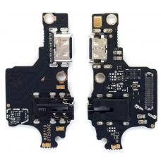 Шлейф зарядки Huawei Honor 10 (COL-L29) микрофон