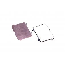 Корпусной часть (Корпус) Nokia 8800 Sapphire Arte пластина задняя внешнего слайдера (original)