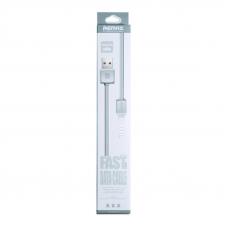 USB кабель REMAX Fast Data Series Cable RC-008i Apple Lightning 8-pin (серый)