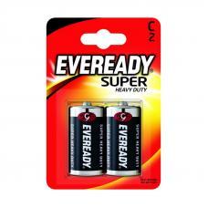 Элемент питания Energizer Carbon Zinc Eveready C/R14 2шт. в блистере (638749)