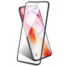 Защитное стекло Full Screen для iPhone XR (без упаковки) (black)