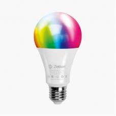 Умная лампа Zetton LED RGBW Smart Wi-Fi Bulb E27 10Вт