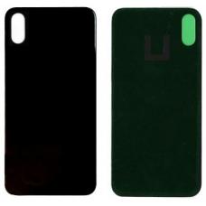 Задняя крышка для iPhone X черная оригинал