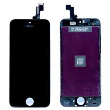 Дисплей с тачскрином для iPhone 5S/ iPhone SE черный AAA