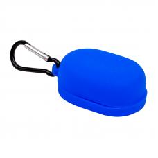 Силиконовый чехол для Redmi AirDots с карабином (синий/европакет) 7