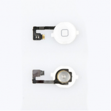 Шлейф/FLC iPhone 4G с кнопкой Home (белый)