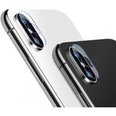 Защитное стекло на камеру Totu Design Camera Len для iPhone X (transparent)