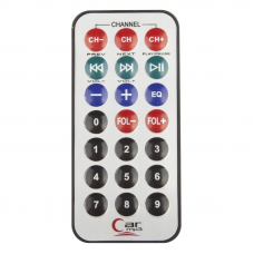FM модулятор FM-02 (Дисплей/Пульт/USB/Micro SD/AUX) черный/красный/коробка