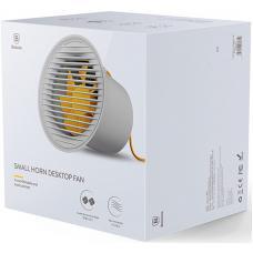 Мини вентилятор Baseus Small Horn Mini Desktop Fan (CXLB-02, CXLB-0G, CXLB-04) (gray)
