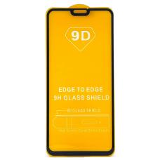 Защитное стекло полное для Huawei Honor 8X / Y9 (2019) / Y8S / Enjoy 9 Plus черное