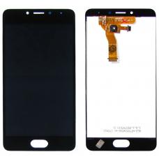 Дисплей с тачскрином Meizu M5C/Meizu A5 черный