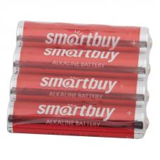 Батарейка алкалиновая Smartbuy LR03 AAA 4шт в пленке