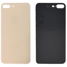 Задняя крышка для iPhone 8 Plus золотая