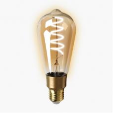 Умная лампа Zetton LED Wi-Fi Bulb ST64SP E27 4Вт 2700К Loft