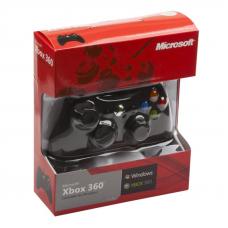 Джойстик для Xbox 360 проводной (черный/коробка)