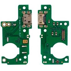 Шлейф зарядки Nokia 5.1 TA-1061 / TA-1075 / TA-1081 / TA-1088 / микрофон