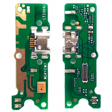 Шлейф зарядки Huawei Y5 2018 (DRA-L21)/ Y5 Prime 2018 (DRA-LX2)/ Honor 7A (DUA-L22) микрофон