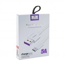 USB кабель Earldom EC-080M Micro USB 1 метр (белый)