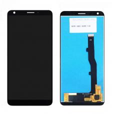 Дисплей с тачскрином ZTE Blade V9 Vita черный