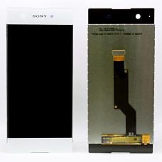 Дисплей с тачскрином Sony Xperia XA1 / XA1 Dual G3121 / G3112 белый