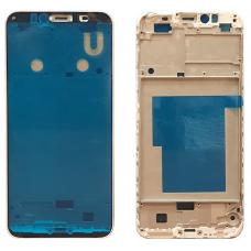 Рамка дисплея для Huawei Honor 7A Pro / 7C / Y6 2018 / Y6 Prime 2018 Белая