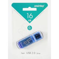 USB-флеш 16GB Smart Buy Glossy Синий