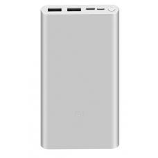 Внешний аккумулятор Xiaomi Mi Power Bank 3 (PLM13ZM) 10000 mAh Fast Charge Version (silver)