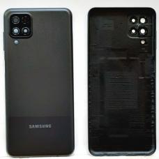 Задняя крышка Samsung Galaxy A12 (A217F) черная