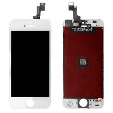 Дисплей с тачскрином для iPhone 5S/ iPhone SE белый ORG