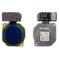 Сканер отпечатка пальца Huawei Mate 20 Lite/ Honor 8 Lite/ 8c/ V9/ Nova 2 синий