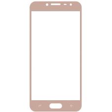 Защитное стекло полное Samsung Galaxy J2 / J2 Pro (2018) /J2 Prime SM-J250 золотое