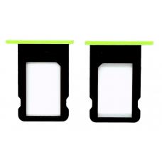 Лоток Sim-карты для iPhone 5C зеленый