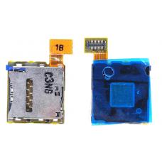 Шлейф Sim-держателя Sony Xperia T2 Ultra D5303