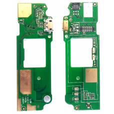 Шлейф зарядки HTC Desire 620 / микрофон