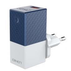Зарядное устройство + внешний аккумулятор LDNIO PA307 2 in 1 - 2600 mAh, 1 х USB (white)