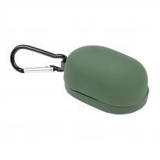 Силиконовый чехол для Redmi AirDots с карабином (зеленый/европакет) 10