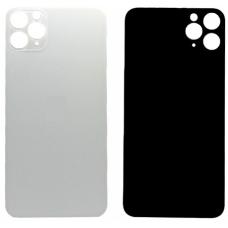 Задняя крышка для iPhone 11 Pro Max серебристая