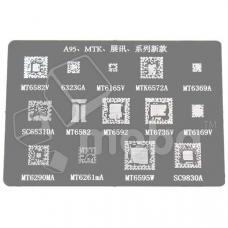 BGA трафарет G1025 ( MT6329A/MT6628P/MT6628Q/MT6320GA/MTK6577ACPU/PM8921/SC2712A/SC8825A )