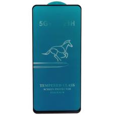 Защитное стекло полное для Huawei Honor 30S / Nova 7 SE / Y9A (HORSE) черное