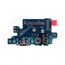Шлейф для Samsung A405 (A40) плата системный разъем/разъем гарнитуры/микрофон