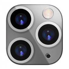 Накладка на камеру iPhone 10 (X, XS, Max) под 11 Pro, 11 Pro Max (накладка для Айфона) (silver)