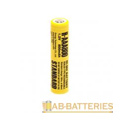 Аккумулятор ET H-AAA800 10.5*43.0, 1.2В, 800мАч, Ni-MH (1/50/1000)