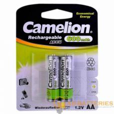 Аккумулятор бытовой Camelion R03 AAA BL2 NI-CD 300mAh (2/24/480)