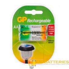 Аккумулятор бытовой GP R6 AA BL2 NI-MH 1300mAh в пластиковой упаковке (2/20/200)