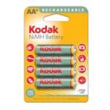 Аккумулятор бытовой Kodak R6 AA BL4 NI-MH 1700mAh (4/80/640/19200)