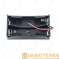 Батареечный отсек ET 18650 2S1P-W с проводами (1/2/100)