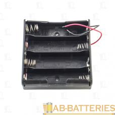 Батареечный отсек ET 18650 4S1P-W с проводами