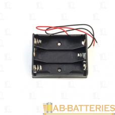 Батареечный отсек ET AA 3S1P-W с проводами